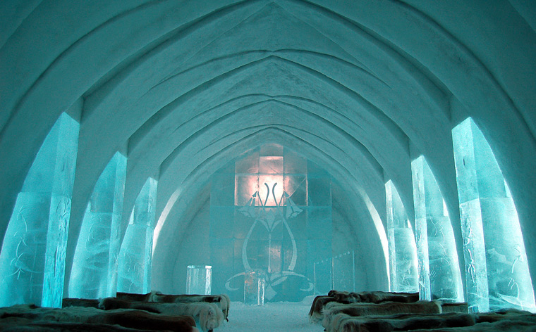 Winter Wonderland – The IceHotel, Sweden