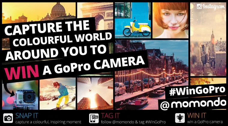 Capture a colourful photo & Win a GoPro camera