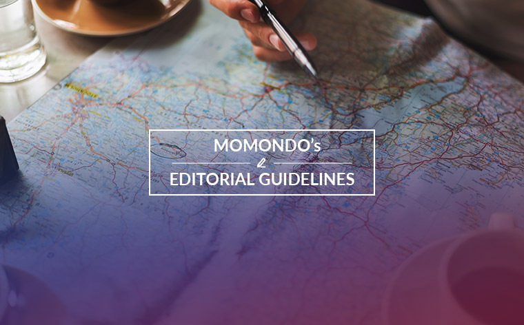momondo's editorial guidelines