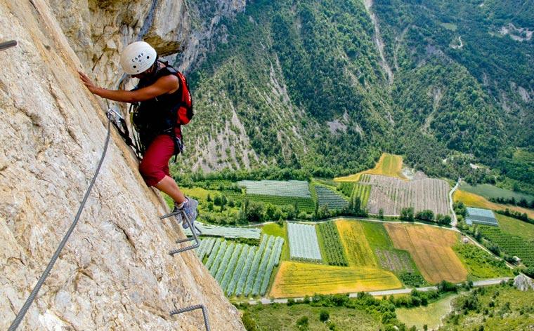 Klettersteig: Adventure with a safety net