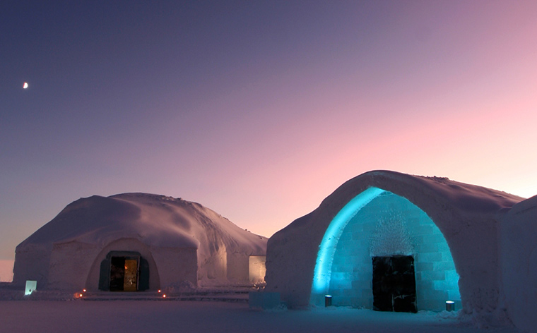 Cool lodgings: the top 5 ice hotels of the world
