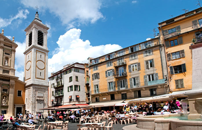 Grab your friends and explore Nice's old city centre