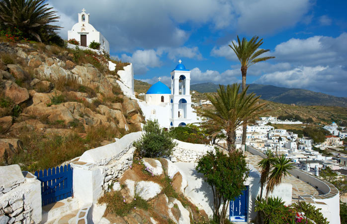 Discover Ios and the church of Panagia Gremiotissa