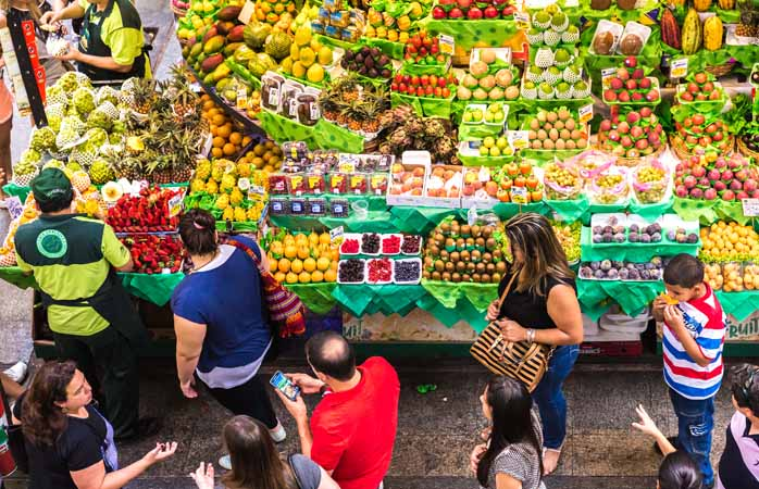 Get a local to help navigate the local markets – you never know what you'll come home with