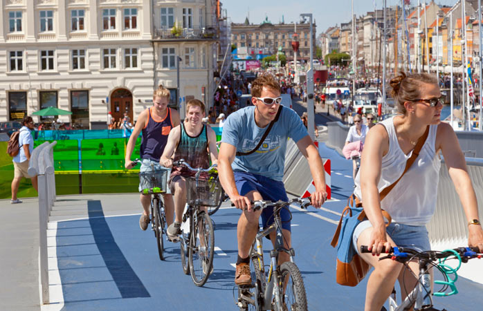 Ride like a local, and follow the rules while cycling in Copenhagen