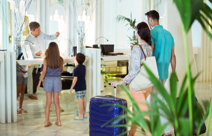 Hotels cater to all types of travellers