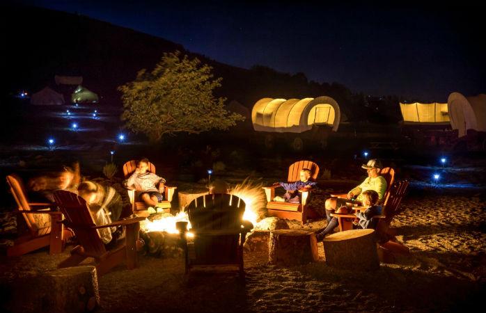 Retrace the pioneer era at Utah's Conestoga ranch