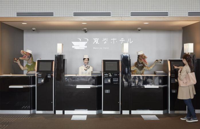"The bots at Henn na Hotel Nagasaki will put your iphone's ""Siri"" to shame"