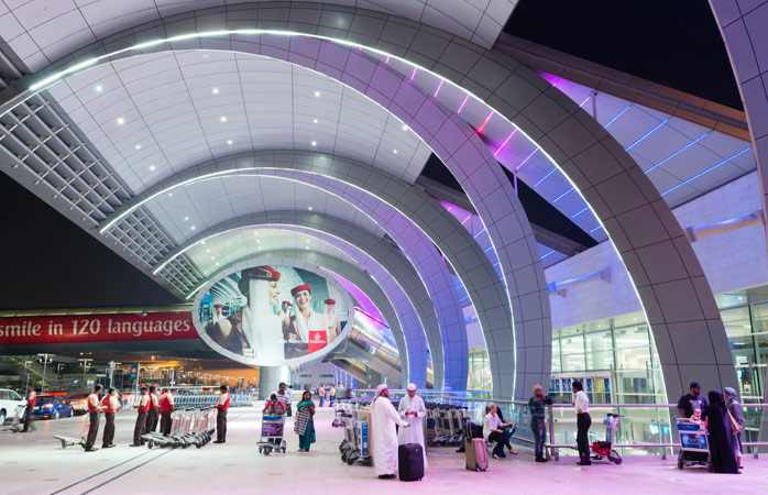 Dubai's Terminal 3 was considered the largest building on earth at the time of its construction