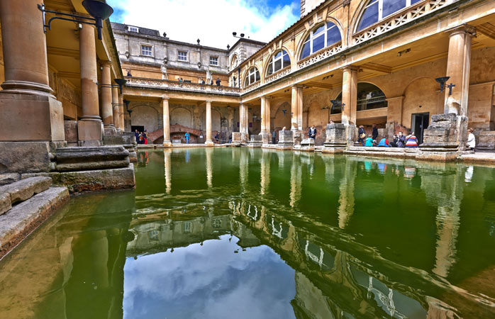 The Roman Baths complex is one of England's most important historical sites
