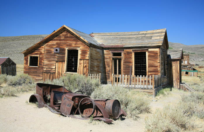 Lots to explore at Bodie