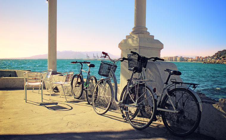 Reaching for the sun: cycling in Málaga from dawn till dusk