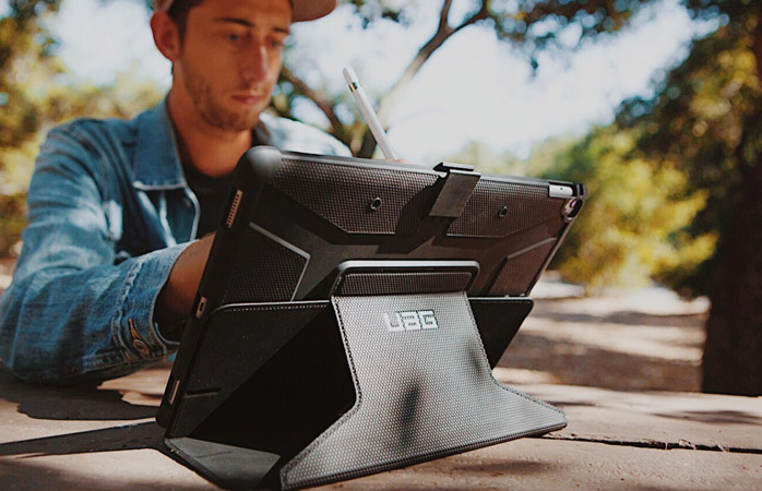 A robust iPad cover is the adventurer's erstwhile travel companion