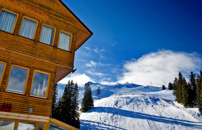 The Jahorina ski centre, Bosnia