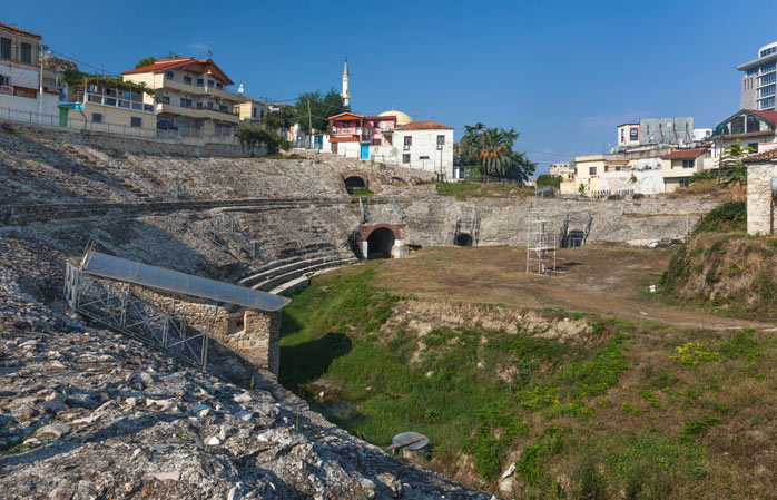 Dating all the way back to the seventh century, Durrës is the most ancient city in Albania