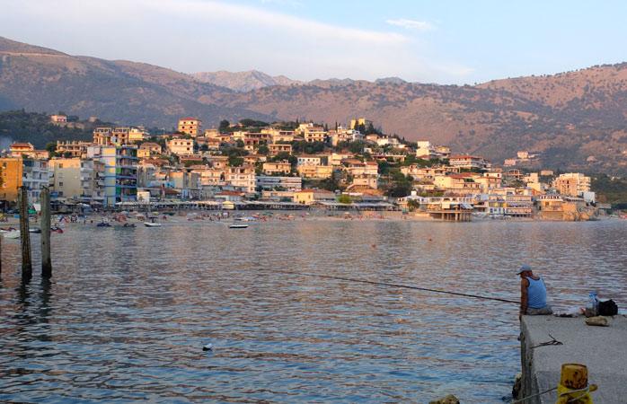 Lounge around, enjoy fresh seafood, then lounge around some more at seaside town Himarë