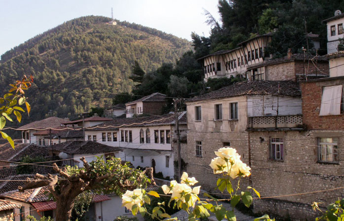 Berat, one of the most well-preserved cities in Albania