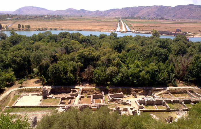 Former Roman city and Greek colony, Butrint was the first in Albania to be Unesco listed