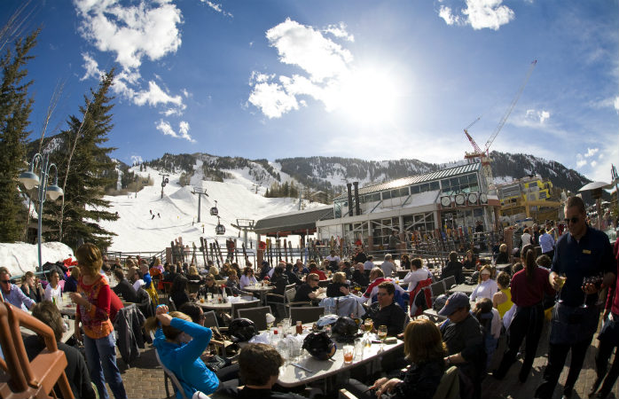 Wine and dine in style on Aspen's slopes