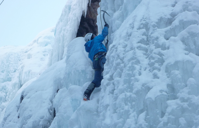 Feeling adventurous? Try ice climbing in Ouray