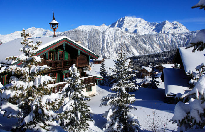 Courchevel 1850 draws its fair share of the ritzy crowd year after year