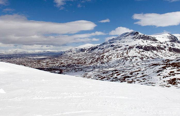 Visit Riksgränsen for great skiing in Sweden
