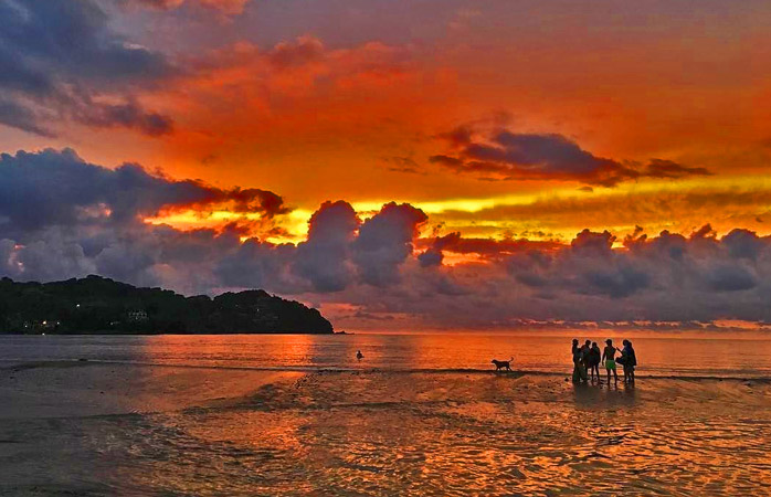 Head to the beaches near Sayulita for the best views of the sunset