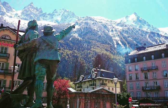 Chamonix: a picture-perfect town in the middle of the mountains