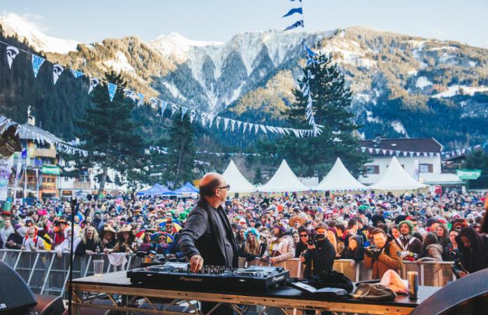 Snowbombing Festival in Mayrhofen, Austria