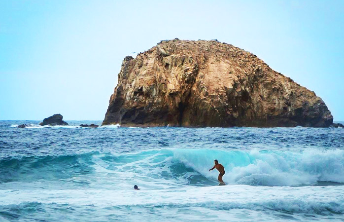 Grab your board and head out to Playa Zipolite