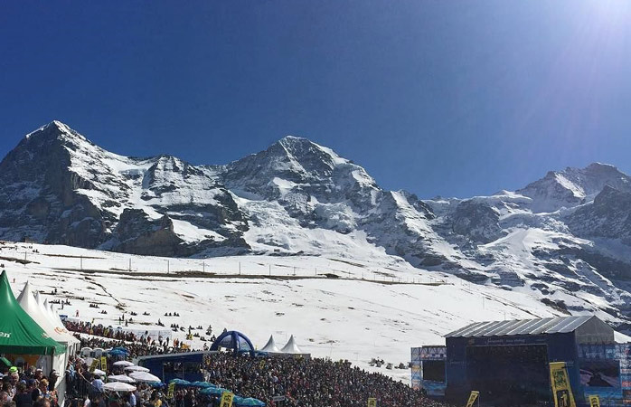 Take a break from the slopes and enjoy the music at Snowpenair Festival