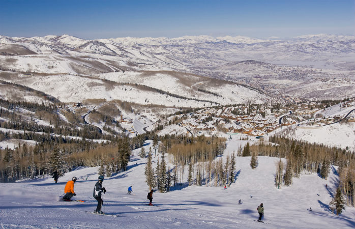 Hitting the slopes in-between movies at Park City, home to the Sundance Film Festival