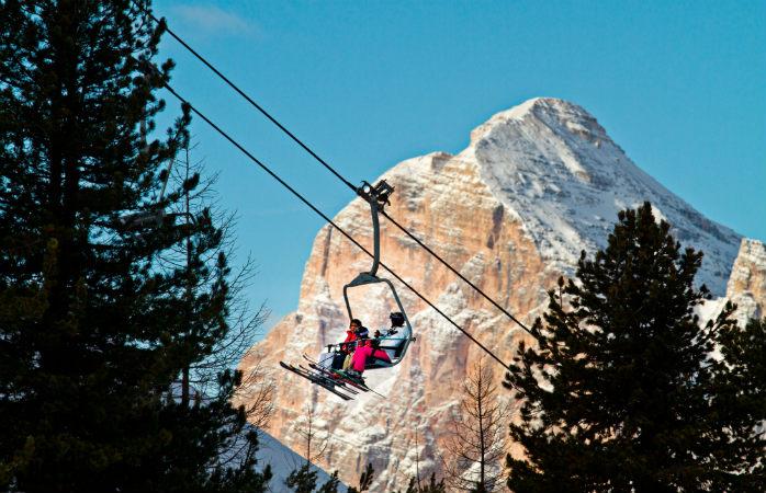 Enjoy the beautiful scenery at Cortina