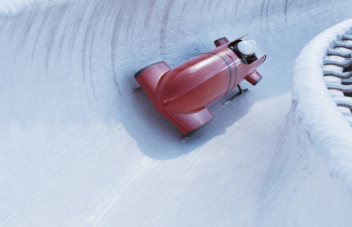 Visit Calgary Olympic Park for a winter getaway with a difference, and a bobsleigh