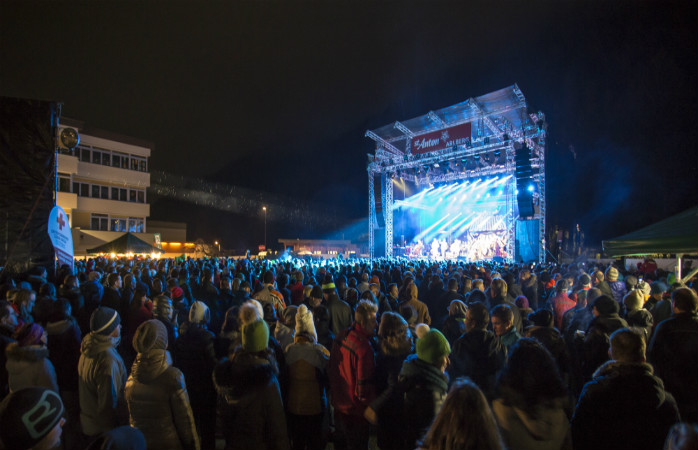 Ski by day, party by night, at St. Anton in Austria