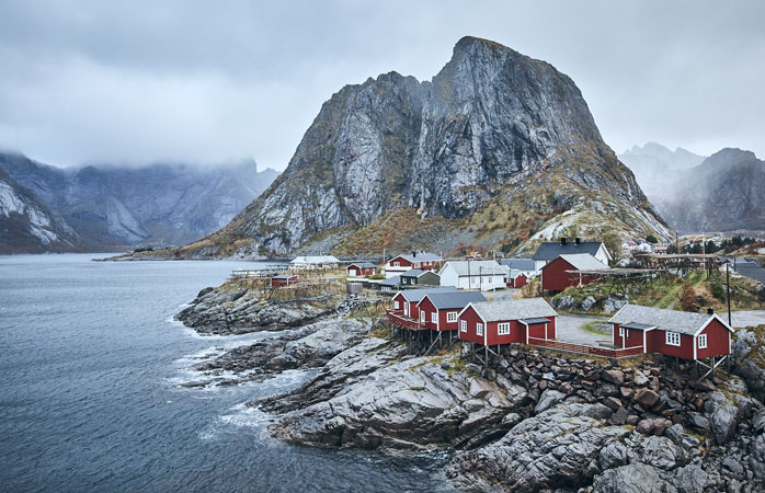 Regardless of the weather, Lofoten Islands are quite a sight