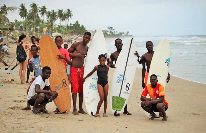 Kokrobite's new generation of surfers