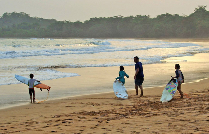 Ghana offers surfing for beginners and experts alike