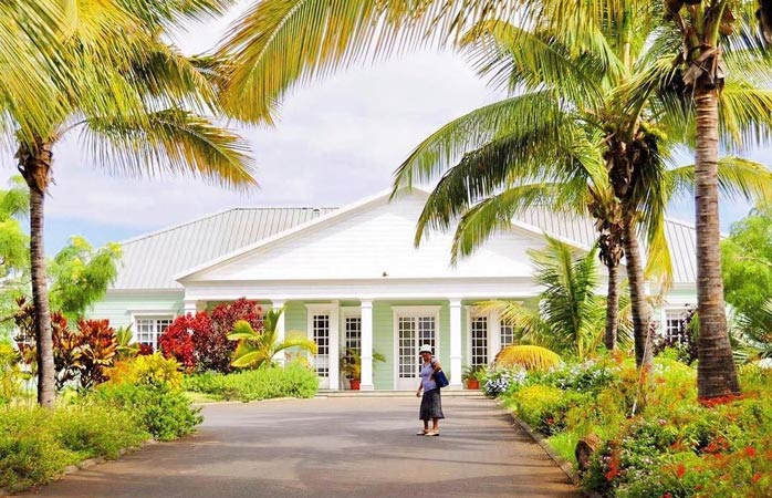 Learn about one of the island's biggest industries, rum production, at Saga du Rhum