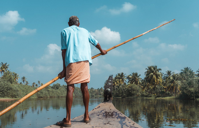 Hop on a boat and sail through Kerala's backwaters