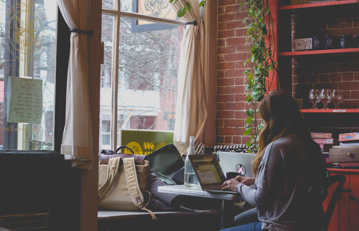 One thing digital nomads need every day? High speed internet and a place to work