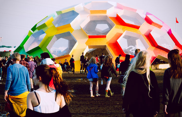 Roskilde Festival is a colourful event that features something for every taste
