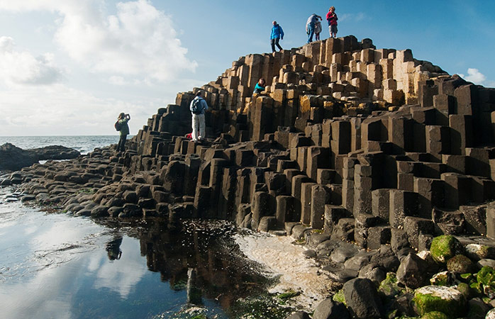 One of nature's masterpieces: the basalt rock formations of the Giant's Causeway