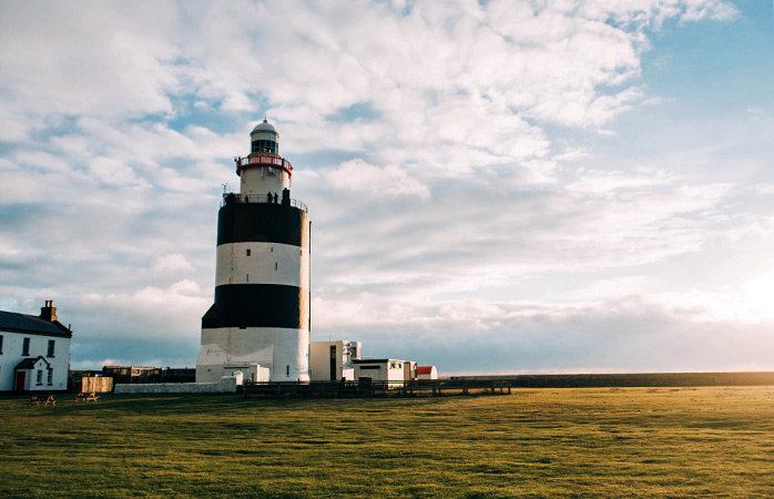 Take a detour to see the iconic Hook Lighthouse on your way from Wexford to Cork