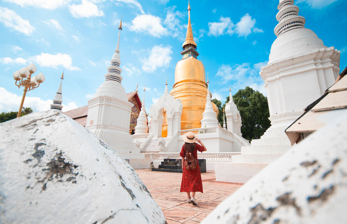 Buddhist temples in Chiang-Mai