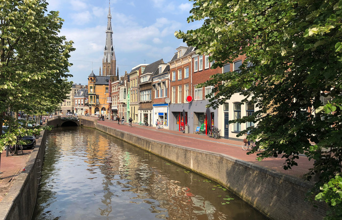 Leeuwarden is a city of culture and canals