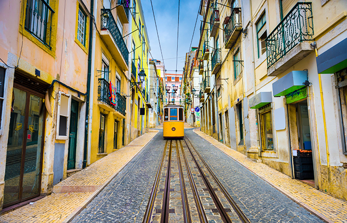 Hop on Lisbon's famous trams to visit the city in style