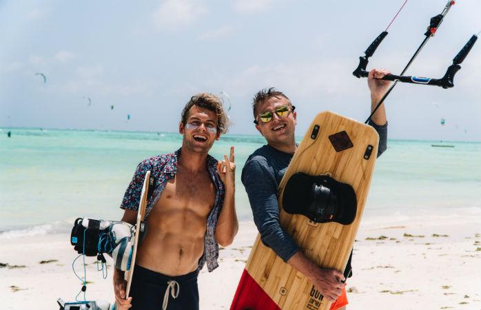 Kite surf camp in Zanzibar