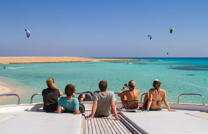 Kite surf camp in Egypt