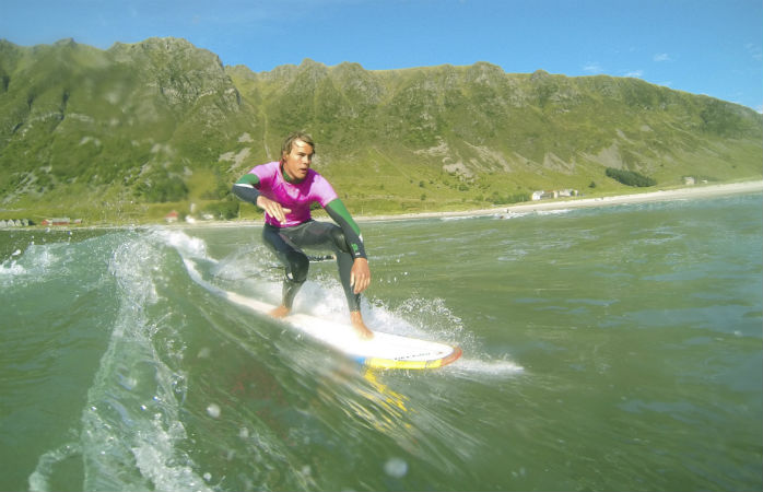 Surf camp in Norway